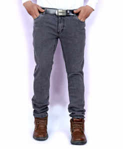 Silver Grey Stylish Jeans AJS-142