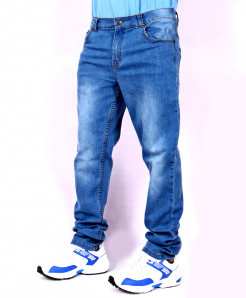 Soft Blue Stylish Jeans AJS-542