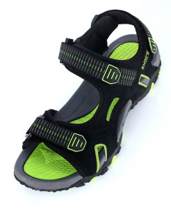 Green Black Tri Strap Stylish Sandal SC-386