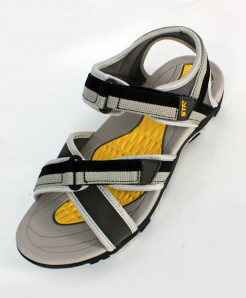 Grey Dual Strap Stylish Casual Sandal SC-120