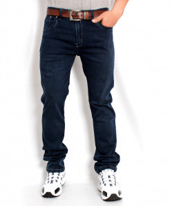 Dark Blue Stylish Jeans AJS-548