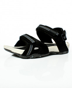 Black Gray Stylish Design Casual Sandal DR-493