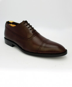 Corio Brown Leather Oxford Style Shoes JC-86