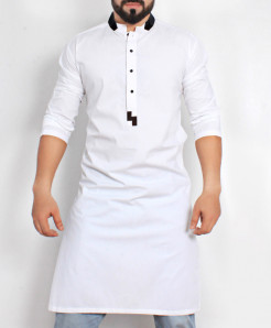 White Stylish Design Kurta CD-016
