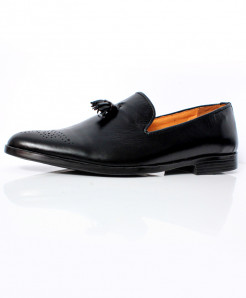 Plain Black Design Stylish Formal Shoes CB-2157