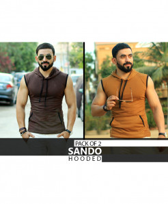 Pack Of 2 Sleeveless Stylish Sando XT-561