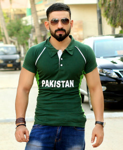 Pakistan Cricket Champions Trophy T-Shirt CT-2017