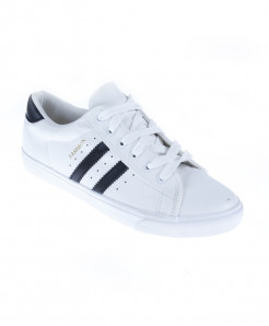 White With Black Stripes Casual Sneakers SC-NAZ54