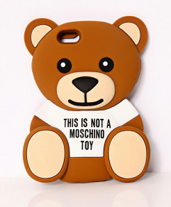 Cute Teddy Bear iPhone 6 3D Silicone Gel Mobile Back Cover