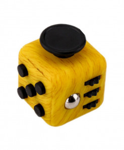 6 Sided Fidget Cube Dice Anxiety Stress Relief AR-2153a