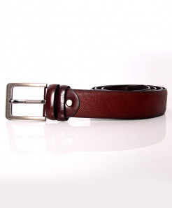 Brownish Red Stylish Belt NR-008