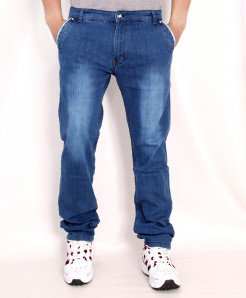 Sky Blue Faded Stylish Denim Jeans RDI-2813