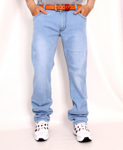 Ice Blue Faded Stylish Denim Jeans RDI-2814