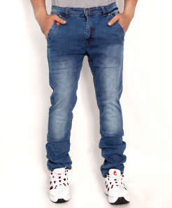 Smoke Blue Faded Stylish Denim Jeans RDI-2815