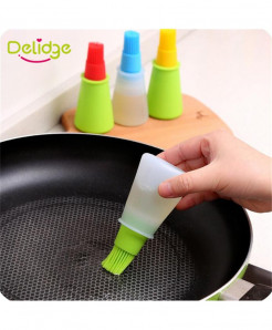 Delidge 2PC Silicone Baking Oid Brush