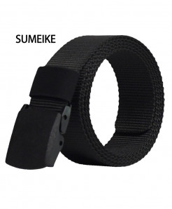 Black Automatic Buckle Nylon Army Tactical Belts