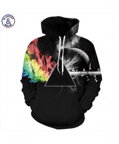 Refraction Rainbow Hoodie