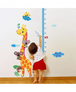 Giraffe Wall Sticker for Kids Bedroom