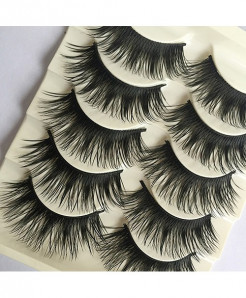 Thick False Fake Cross 5 Pairs Eyelashes AT-421