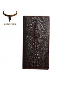 COWATHER Alligator Leather Wallets AT-4921