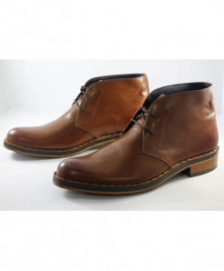 Corio Mustard Ankle High Chukka Boot Design CSR-C101228