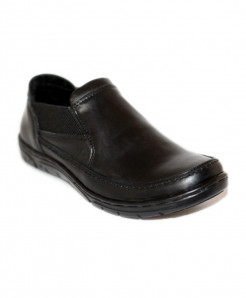 Black Stylish Design Formal Shoes SCE-4