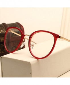 Vintage Metal Optical Frame AT-3890