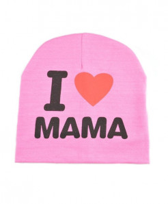 I LOVE MAMA Winter Baby Cap AT-11