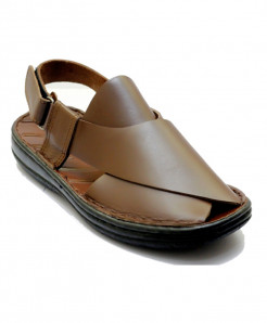 Coffee Stylish Design Peshawari Sandal SCE-12