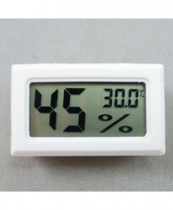 Digital LCD Hygrometer Alarm Clock Temperature Thermometer