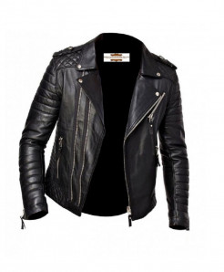 Black Sheep Leather Jacket For Men MB2 SLL-02