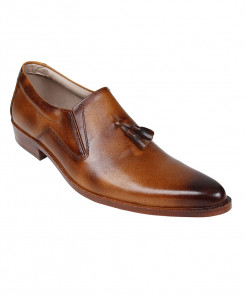 Brown Leather Formal Shoes LC-AL-5033