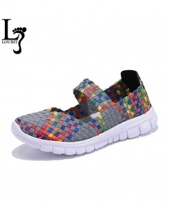 Handmade Comfortable Woven Ladies Shoes AT-582