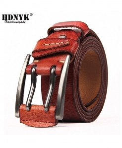 Leather Pin Buckle Fancy Vintage Belts  AT-481