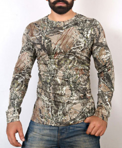 Jungle Print Full Sleeve T-Shirt ABSG-002