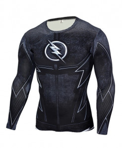 Flash Long Sleeve Fitness T-Shirt