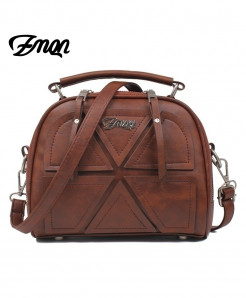 ZMQN Brown Stylish Ladies Handbag