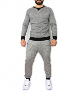 Grey Tracksuit For Men SPK-031