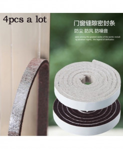 Pack of 3 100cm Vanzlife Door Windproof Soundproof Seal Sicker