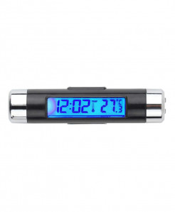 Car Digital Backlight Automotive Thermometer Clock