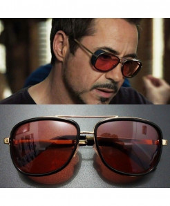 Tony Stark Red Sunglasses