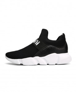 Black Super Light Tennis Sneaker Shoes