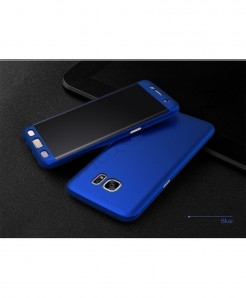 Blue Samsung Galaxy 360 Degree Hard Cover
