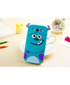 3D Sullivan Cartoon Soft Silicone Cover