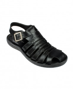 Black Close Strap Style Sandal LC-202