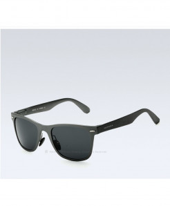 VEITHDIA Grey Shaded Aluminum Square Polarized Sunglasses