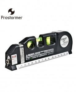 PROSTORMER Laser Level Wire Infrared Measure Tape
