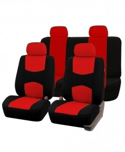 AUTOYOUTH Red Car Seat Covers Full Set