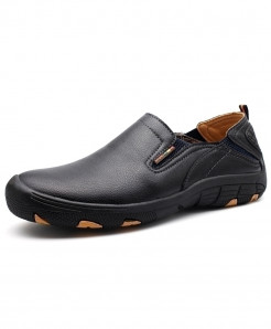 Black Trail Slip on Outdoor Hiking Trekking Sneakers