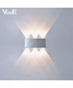 YooE Indoor 6W LED Aluminum Decorate Wall Lamps